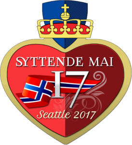 2017 Seattle Syttende Mai Pin