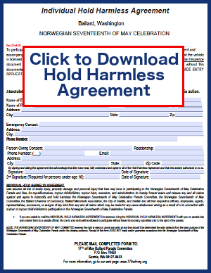 Download Hold Harmless Agreement