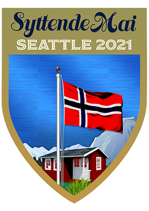 2021 Official Seattle 17th of May Pin
